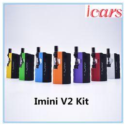 $enCountryForm.capitalKeyWord Australia - Authentic Imini V2 Kit 650mAh Preheat Battery Upgraded Box Mod 0.5ml 1.0ml Imini I1 Tank Cartridge Vaporizer for Thick Oil 100% Genuine