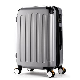 Chinese  Wholesale!High quality 20inches candy color abs pc travel luggage bags on brake universal wheels,hardside suitcase for girl manufacturers