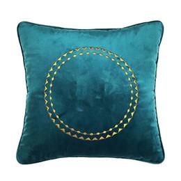 $enCountryForm.capitalKeyWord Australia - Classic brand pattern H cushion cover 45x45cm without pillow luxury fashion design logo pillow case cover