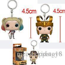 $enCountryForm.capitalKeyWord Australia - Sale Funko Pocket POP Keychain - Harley Quinn Suicide Squad Vinyl Figure Keyring with Box Toy Gift Good Quality t552
