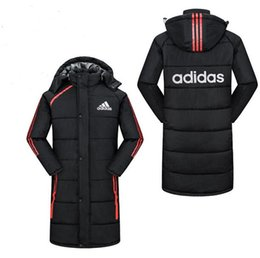 $enCountryForm.capitalKeyWord Australia - New fashion men women hooded cotton jacket thicken warm coats cotton-padded clothes winter unisex down jacket long coat WH2005