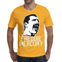 65e98b4d6 Freddie Mercury Men's Tops Tees Fit Hunting Cotton Short Sleeve Shirts Man  Gym T Shirt Fashion T Shirts for Man