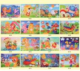 foam sticker crafts UK - 3D DIY Foam Crystal Stickers Art EVA Children Puzzle Cartoon Creative Educational Craft Toys For Kid Chtistmas Gift