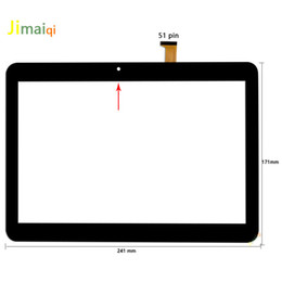 digma tablet NZ - For 10.1'' inch DIGMA Plane 1572N 3G PS1187MG DP101514-F1 Tablet Capacitive touch screen panel Digitizer Sensor Replacement Part