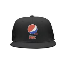 Cotton Cherry UK - Womens Mens Plain Adjustable retro wild cherry pepsi Punk Hip-Hop Cotton Dad Hats Golf Bucket Hats Flat Top Hat Airy Mesh Hats For Men Wome