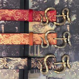 $enCountryForm.capitalKeyWord Australia - Classic Snake Buckle Belts Italy Designer Waistband Animal Buckle Casual Belt with Box Letter Buckle Belt Unisex Luxury Fashion Jeans Belts