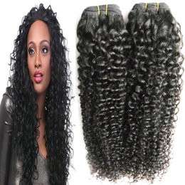 $enCountryForm.capitalKeyWord Australia - Brazilian kinky curly Hair 1and 2 Bundles Double Machine Weft 100% Remy Human Hair Weave Brazilian Hair 2pcs