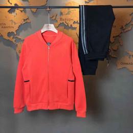 $enCountryForm.capitalKeyWord NZ - Designer ladies sportswear luxury fashion brand ADI women's three-color round neck baseball uniform cardigan printing ladies jacket pants