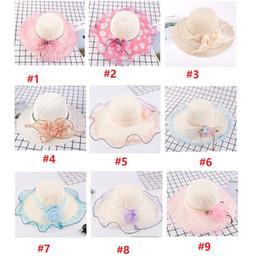 $enCountryForm.capitalKeyWord Australia - Summer women hats flowers outdoor hats for sun new lady climbing elegant tour beach hat 36 colors styles multi