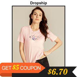 $enCountryForm.capitalKeyWord NZ - Dropship T Shirt Women Camisetas Mujer Tee Shirt Femme Poleras De Mujer Moda 2019 Harajuku Friends Ulzzang Graphic Tees Women J190427