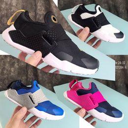 $enCountryForm.capitalKeyWord Australia - Fashion Huarache 6 Kids Sports shoes Non-slip Boys Sneakers Girls Casual Shoes Cheap High Quality Child Running Shoes Size 24-32
