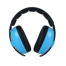 headphones ear pads Canada - Baby Kids Portable Adjustable Headband Ear Protection Boys Girls Noise Canceling Soft Earmuff Home Wireless Headphone Padded