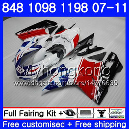 Star compreSSion online shopping - Body For DUCATI R R R HM S S S R S Blue stars Red Fairing