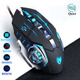 Usb Computer Mice Australia - wired gaming New Gaming Mause DPI Adjustable Computer Optical LED Game Mice Wired USB Games Cable Silent Mouse for Professional Gamer