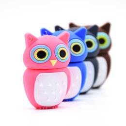 pens birds NZ - Animal Usb Flash Pendrive 4gb 8gb 16gb 32gb 64gb 128gb Bird U Night Owl Memory Stick Pen Drive Gift
