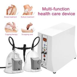 La macchina dell'ingrandimento del seno con il rullo di vuoto 3pcs per il sollevamento del capezzolo portatile per il seno di uso domestico migliora l'attrezzatura di bellezza in Offerta