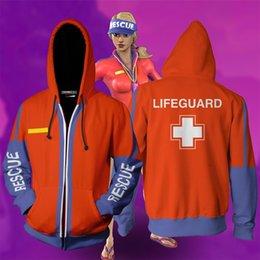 Men aniMe sweater online shopping - Luxury designer hoodie FORTNITE fortress night mens hoodie anime d high quality printing plus velvet loose hooded sweater hot