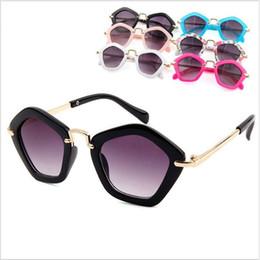 $enCountryForm.capitalKeyWord UK - Kids Sunglasses Pentagram Sun Glasses Girls Summer Diamond Eyeglasses Beach Eyewear Sun Shades Goggles Outdoor Travel Riding Eyeglass C6001