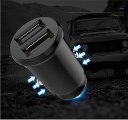 Free tablet chargers online shopping - Mini USB Car Charger For Mobile Phone Tablet GPS A A Fast USB Car Phone Charger Adapter in Car DHL