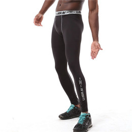 $enCountryForm.capitalKeyWord NZ - Compression Sports Leggings Flexible Men Running Fitness Sweatpants Bodybuilding Jogging Gym Tights Training Pants