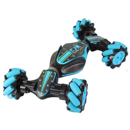 Toy componenTs online shopping - Remote Control Stunt Car Boys Stunt Dump Degree Rotating RC Cars Control Gesture Sensitive Twist Car Auto Kids Toys Gift Package
