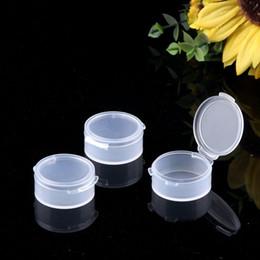 Medical Plastics Australia - 5g Clear Plastic Storage Box Mini Earplugs Box Face Cream Container Portable Small Round Box W9991