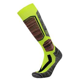 Towel socks online shopping - 2020 Ski socks men and women towel long tube thick outdoor hiking warm sweat sports scoks factory Outdoor hiking socks