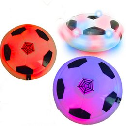 Football Games For Kids Australia - Amazing Kids Toys Hover Soccer Ball with Colorful LED Light Boys Girls Children Toys Training Football for Indoor  Outdoor with Parents Game