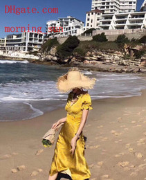 $enCountryForm.capitalKeyWord Australia - Summer Dresses 2019 New Beach Bohemian Print Sexy Halter For Holiday Boho Polka Party Skirt Sundress for women Beach Skirt Girl Dress