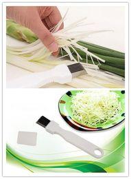$enCountryForm.capitalKeyWord Australia - Hot Dining Bar Onion Vegetable Cutter slicer multi chopper Sharp Scallion Kitchen knife Shred Tools Slice Cutlery