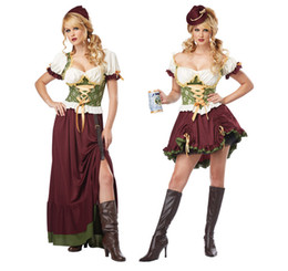$enCountryForm.capitalKeyWord Australia - Women Designer Costumes Clothing 2019 New Womens Cosplay Dresses German Oktoberfest Plaid Clothing Women Beer Luxury Dress