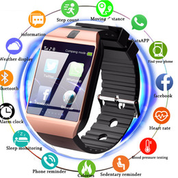 Smart Watch Iphone Android Australia - DZ09 Smartwatch Smart Watch Digital Men Watch For Apple iPhone Samsung Android Mobile Phone Bluetooth SIM TF Card Camera