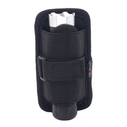 Bulb Case Australia - Nylon Flashlight Holster Case