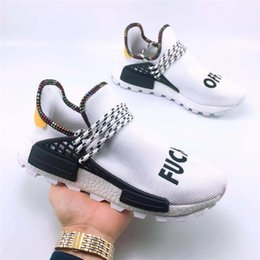 $enCountryForm.capitalKeyWord NZ - Hot Sell Human Race X Ink HU HUMAN RACE SPIECES Men Sports Shoes Pharell Williams Womens Quality Trainer Footwear Designer Sneakers