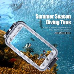 $enCountryForm.capitalKeyWord Australia - Andoer Smartphone Protective Case Cover Diving Mobile Phone Waterproof Housing Underwater 40M  130ft for iPhone 8 Plus