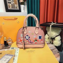 Shell Hand Bag NZ - 2018 Designer Handbag Women Leather Handbags Womens Shell Bag Shoulder Bags High Quality Hand Bag