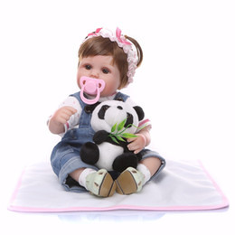 soft toys china NZ - Bebe Reborn 2018 Silicone cute Reborn Baby Doll kids Playmate Gift For Girls 46cm Baby Alive Soft Toys Doll Reborn