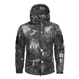 bb0f12ef6d2 Brand Clothing Men Military Jacket Us Army Tactical Sharkskin Softshell  Autumn Winter Outerwear Camouflage Jacket And Coat
