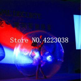$enCountryForm.capitalKeyWord NZ - Free Shipping 1.0mm Thickness PVC 2m Clear Water Walking Ball Inflatable Water Ball Inflatable Human Hamster Ball For Sale