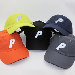 ball caps letter p Australia - 3M Reflective P Letter Baseball cap Branded Snapback Hip Hop Dad Hat Drake Men Women Outdoor Summer Visors Beach Sun Hats Trucker Caps Bone