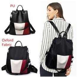 $enCountryForm.capitalKeyWord Australia - Korean Style Girls Backpack PU Leather Theftproof Shoulder Bags With Cute Bear Students School Bag Waterproof Travel Backpacks Black Daypack