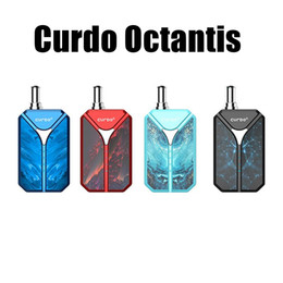 kit mod box NZ - Authentic Curdo Octantis Vaporizer Mod Starter Kit 400mAh Battery Variable Voltage Box for 510 Thread Thick Oil Cartridge Carts Tank DHL