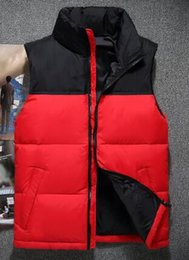 $enCountryForm.capitalKeyWord Australia - Deluxe Spring Autumn Men Solid Vests Mens Warm Sleeveless Jacket Winter Waistcoat Male Vest Casual Coats Sport Outwear Red Black