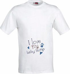 744996efe I LOVE MY BABY BUMP PREGNANCY MATERNITY GIFT FULL COLOR SUBLIMATION T SHIRT  custom printed tshirt, hip hop funny tee, mens tee shirts
