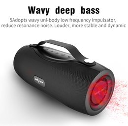 power bank music Australia - ZEALOT S29 Portable Bluetooth Speaker Boom Bass Subwoofer FM Radio Wireless Outdoor Speaker Power Bank Flashlight TF Card Mp3 Music Player