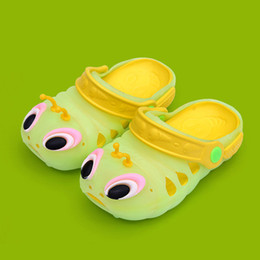 shoes for boys years 2019 - Kids Boy Girl Cartoon Funny Sandals 2019 Summer Toddler Baby Cute Beach Shoes Children Caterpillar Slippers for 1 2 3 4