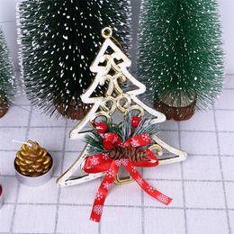 Tree knoTs online shopping - Christmas Decorations For Home Tree Ornaments Bow knot Festival Party Xmas Tree Hanging Christmas Decoration Adornos De Navidad SH190918