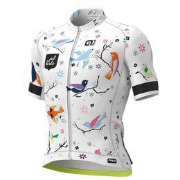 Toptan satış Bisiklet jersey 2019 Pro Team ALE yeni Erkekler bisiklet kısa kollu şort bisiklet yarışı spor bisiklet nefes giyim Ropa Ciclismo