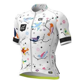 Venta al por mayor de Jersey de ciclismo 2019 Pro Team ALE nuevos hombres bicicleta pantalones cortos de manga corta bicicleta de carreras ropa deportiva ciclismo ropa transpirable Ropa Ciclismo