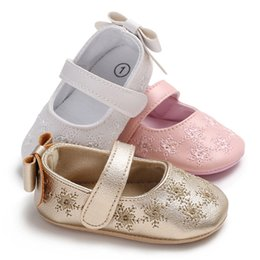 $enCountryForm.capitalKeyWord NZ - Princess Baby Kids Girls Leather Shoes Toddler Soft Crib Shoes Summer Infant Cute Floral 0-18 M
